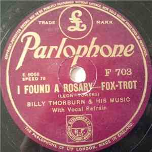 Billy Thorburn & His Music - I Found A Rosary / The Memory Of A Tiny Shoe download